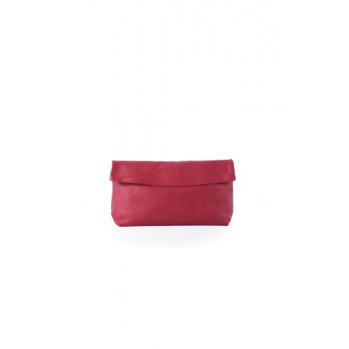 Medium Red Leather Purse