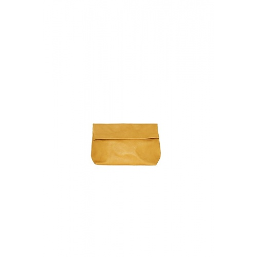 Small Mustard Leather Purse