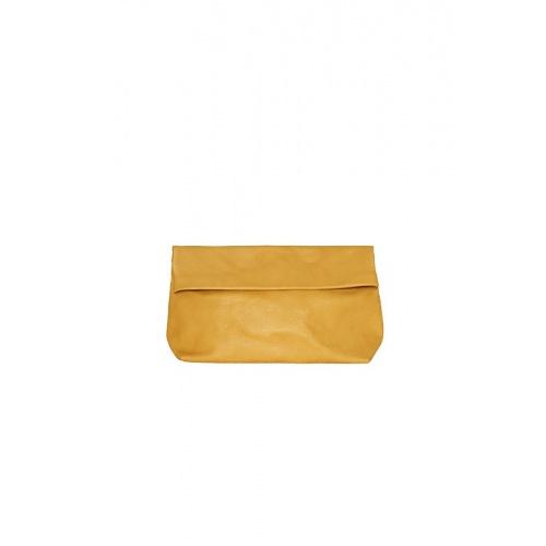 Medium Mustard Leather Purse