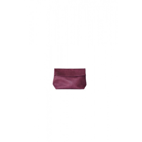 Small Purple Leather Purse