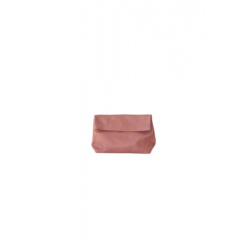 Small Old Pink Leather Purse