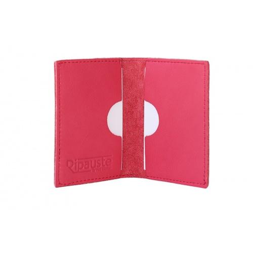 Acheter Fuchsia Pink Leather card Holder