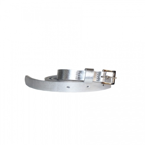 Acheter Silver Leather Belt
