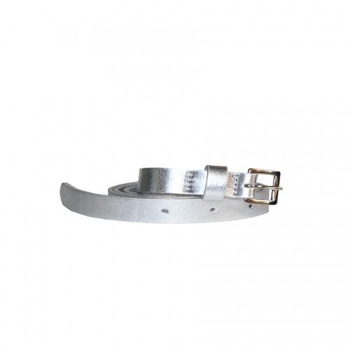 Acheter Silver Leather Belt