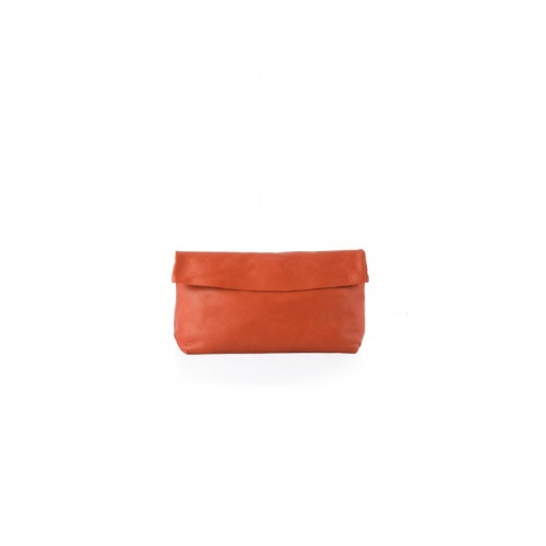 Acheter Medium Orange Leather Purse