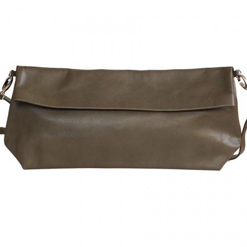 Acheter Khaki Leather XL Shoulder Bag