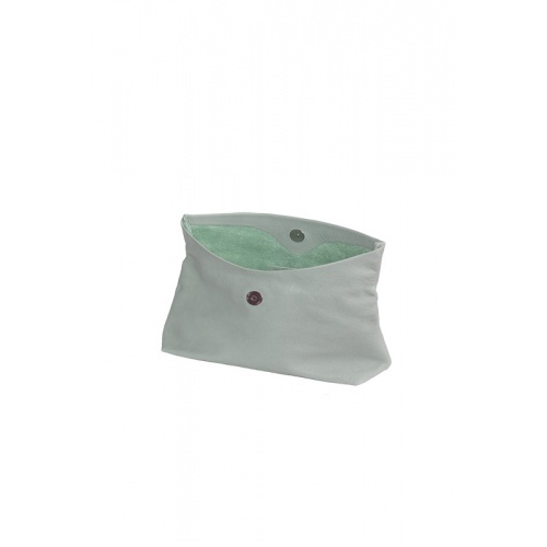 Pochette Medium Vert Amande