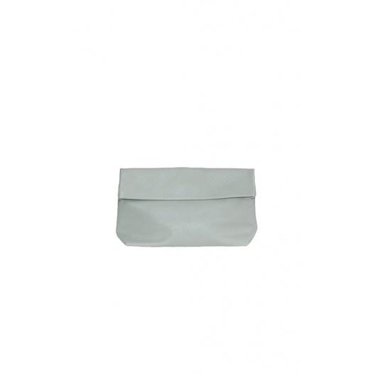 Medium Green Almond Leather Purse