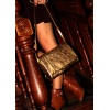 L'Insolent : Golden Leather Bag