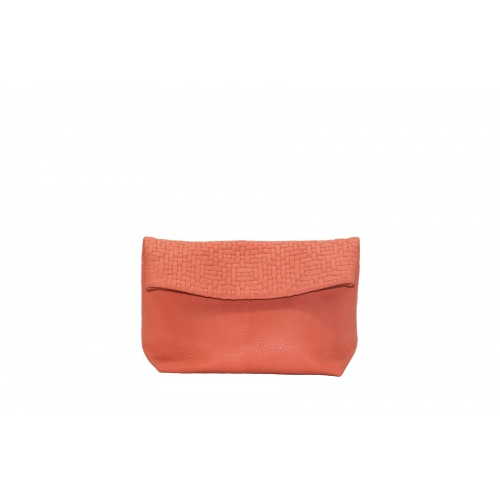 Acheter Medium Coral Leather Purse