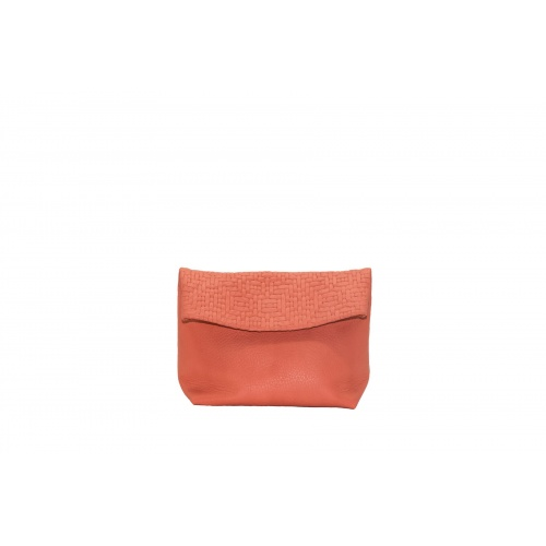Acheter Small coral Leather Purse