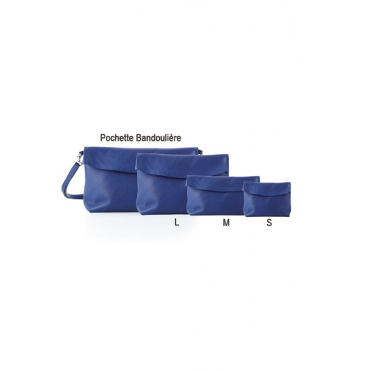 Ripauste: Pochette Small Bleue | Bags,Bags > Clutches -  Hiphunters Shop