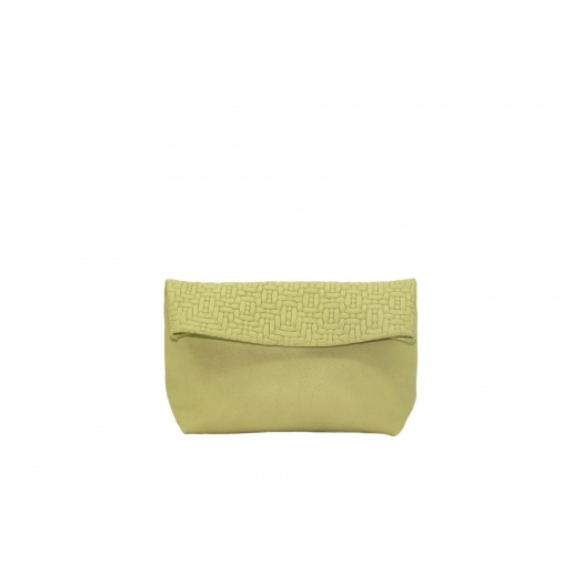 Medium Soft Green Leather Purse