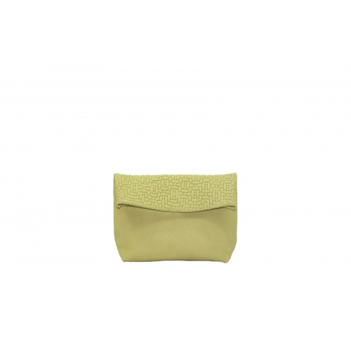 Acheter Small Soft Green Leather Purse