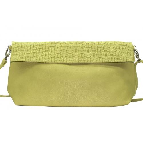 Acheter Soft Green Leather XL Shoulder Bag