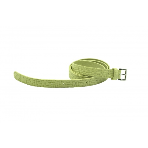 Acheter Soft green Leather Belt
