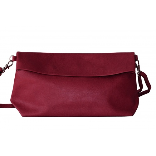 Acheter Burgundy Leather Shoulder Bag