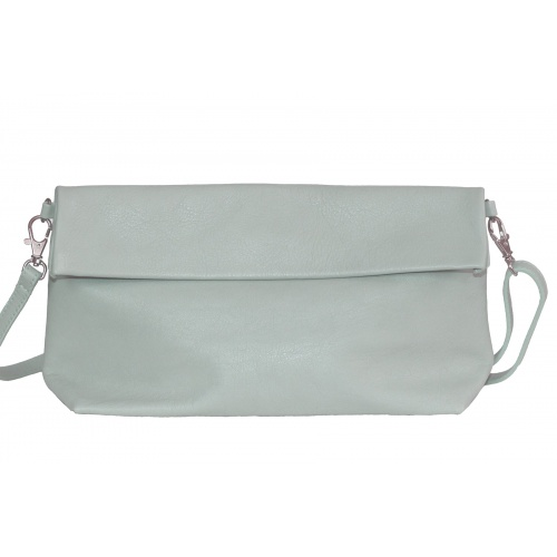 Acheter Green Almond Leather Shoulder Bag