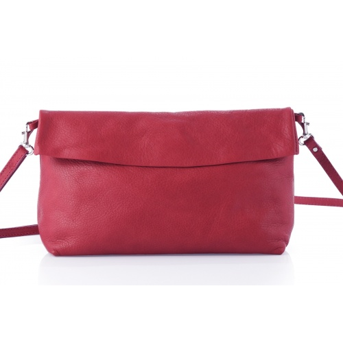 Acheter Red Leather Shoulder Bag