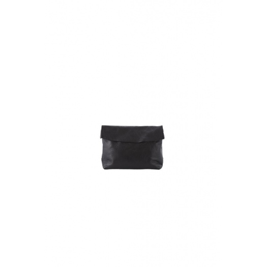 Small Black Leather Purse