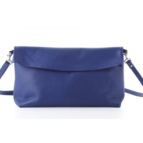 Acheter Blue Leather Shoulder Bag