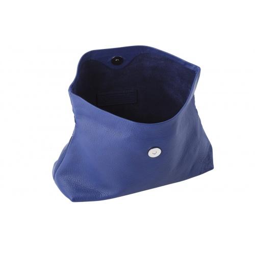 Pochette Large Bleue