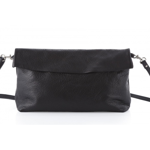 Acheter Black Leather Shoulder Bag
