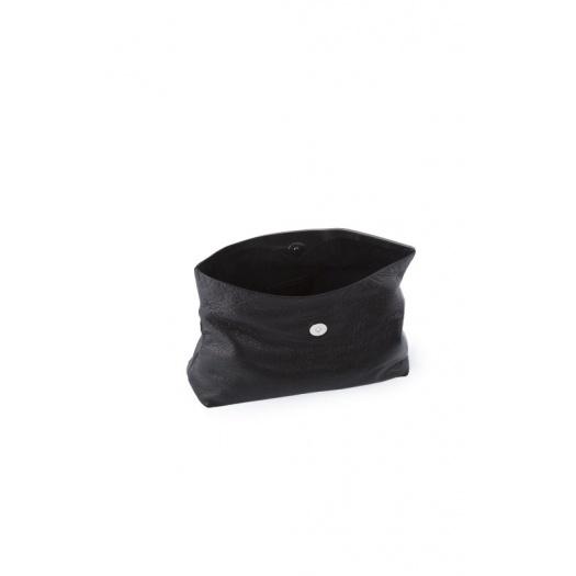 Ripauste: Pochette Medium Noire | Bags,Bags > Clutches -  Hiphunters Shop