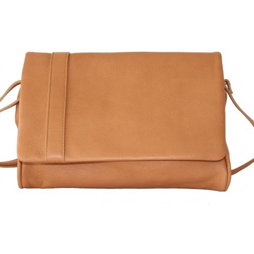 L'Insolent : Camel Leather Bag