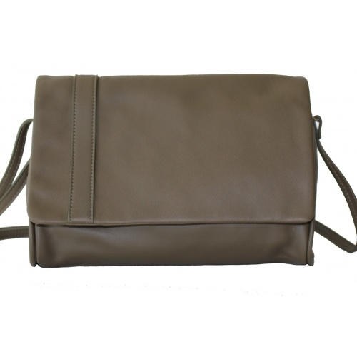 L'Insolent : Kaki Leather Bag