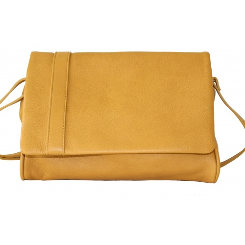 Acheter L'Insolent : Mustard Leather Bag