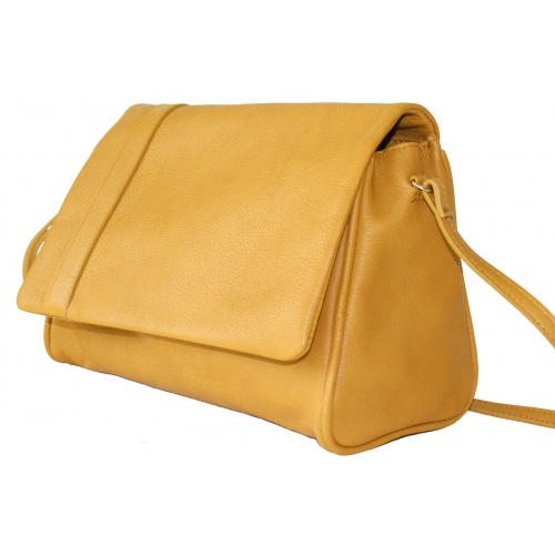 Sac jaune moutarde