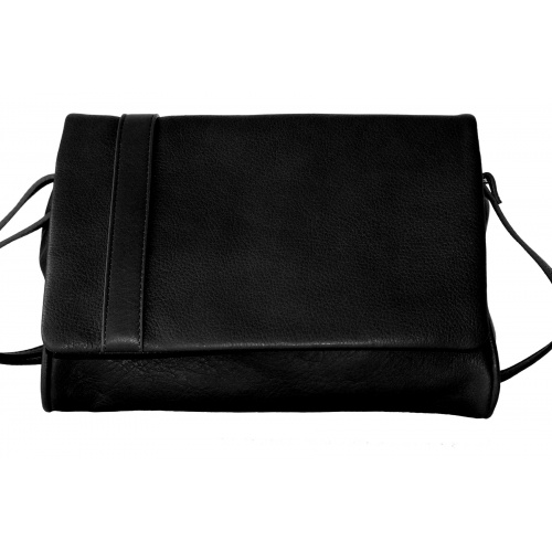 Acheter L'Insolent : Black Leather Bag