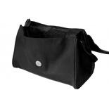 sac femme cuir noir