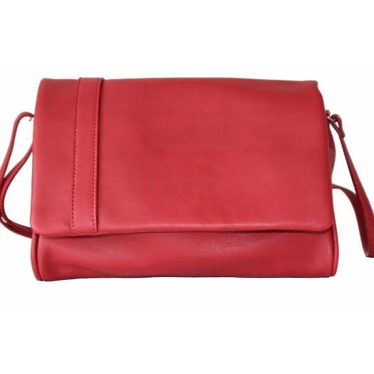 L'Insolent : Red Leather Bag