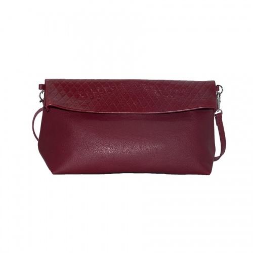 Acheter Burgundy Leather Shoulder Bag