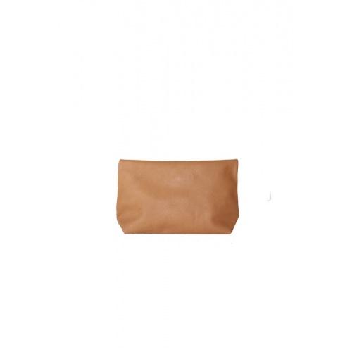 porte monnaie rose clair et camel
