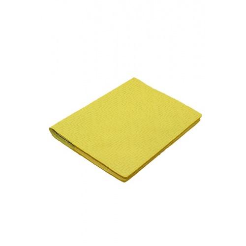 protège cahier jaune