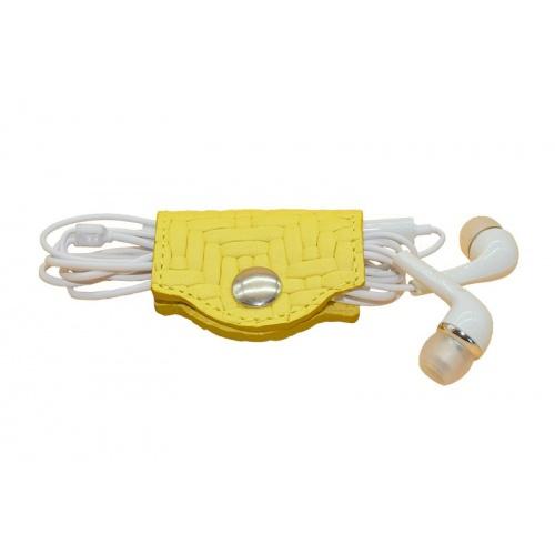 porte cable jaune