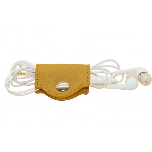 Porte cable cuir