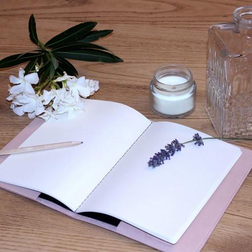 Protège cahier cuir