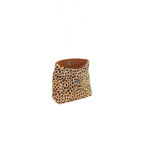 Porte monnaie léopard