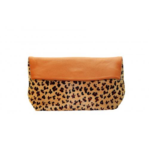 pochette léopard