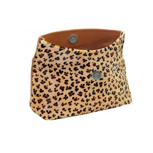 pochette maquillage leopard