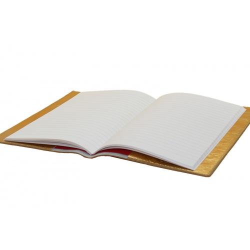 protège cahier doré