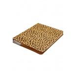Porte agenda léopard