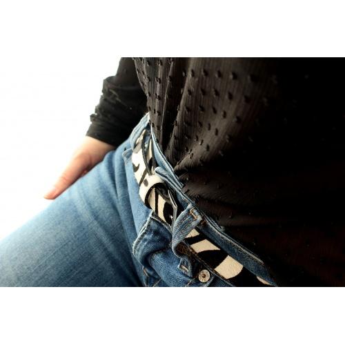ceinture zebre