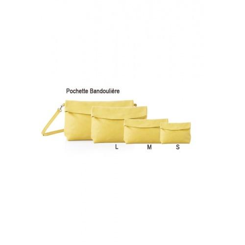 Pochette Bandoulière Jaune