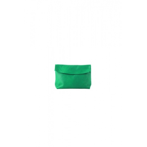 Small Green Leather Purse