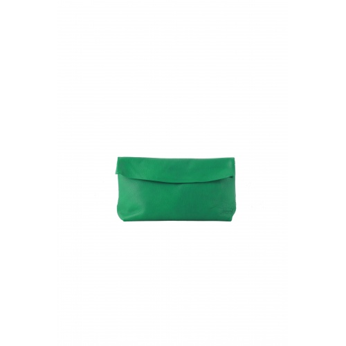 Medium Green Leather Purse